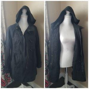 Women's charcoal gray jacket